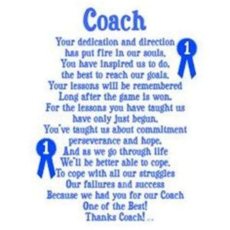 thank you letter to hockey team 1000 images about coach gifts on coach gifts