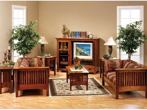 mission living room set mission living room set