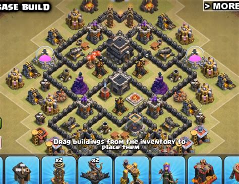 coc layout anti dragon th7 top 14 best th7 war base anti dragons 2018 new 3 air