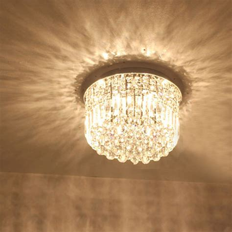 modern crystal ceiling ls hanging ceiling lights modern crystal surface mounted led
