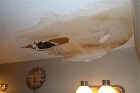 bathroom ceiling water damage water damage restoration az environmental contracting