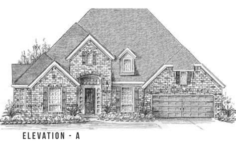 Trendmaker Homes Floor Plans by F790 Lakes At Creekside