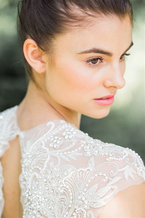 Wedding Hair And Makeup Inspiration by Rock My Wedding Summer Wedding Editorial Makeup By Jodie