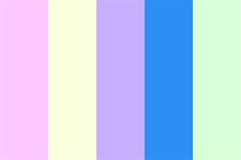 light color palette light neon pastel color palette