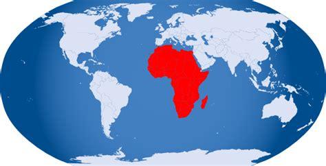 world map africa world globe highlight africa clip at clker