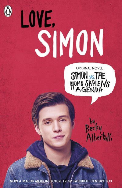 simon vs the homo 014135609x love simon by becky albertalli penguin books new zealand