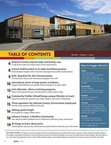 Jocogov Org Records Fall 2014 Joco In The