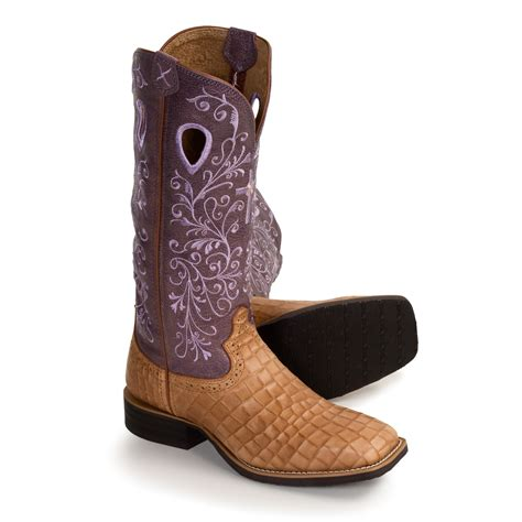 twisted x s boots twisted x boots ruff stock boots wide square toe roper