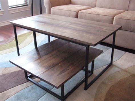 diy  tier coffee table