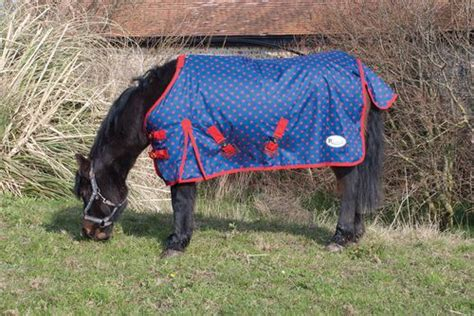 Outdoor Rugs For Horses Rhinegold Foal Small Pony Dottie Lightweight Outdoor Rug No Polyfill Lightweight