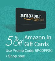 Cheap Amazon Gift Cards For Sale - 5 discount on amazon india gift card amazon great indian diwali sale