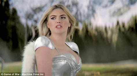 actress game of war commercial kate upton shows off her assets in game of war fire age