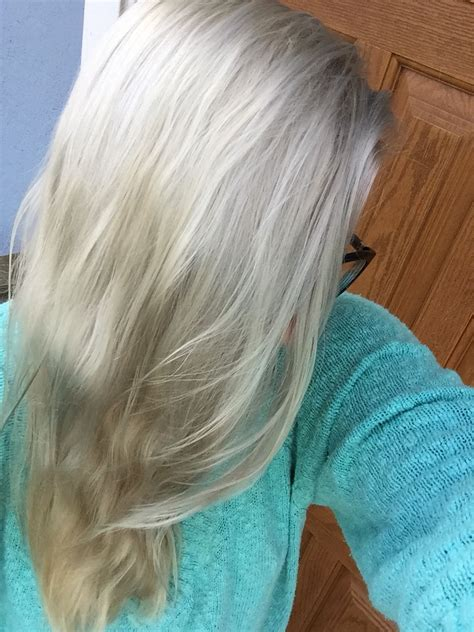 blonde brillance platinum toner platinum perfect blond ammonia free toner blondes make