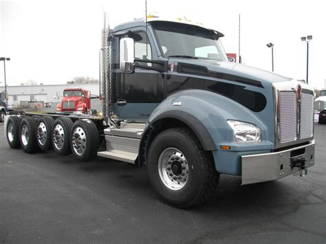 kenworth chassis kenworth t880 cab chassis trucks in ohio for sale used