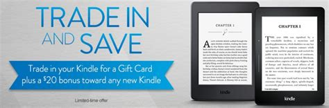Do Amazon Gift Cards Count Toward Free Shipping - trade in your old kindle get a 20 bonus gift card towards a new one money saving