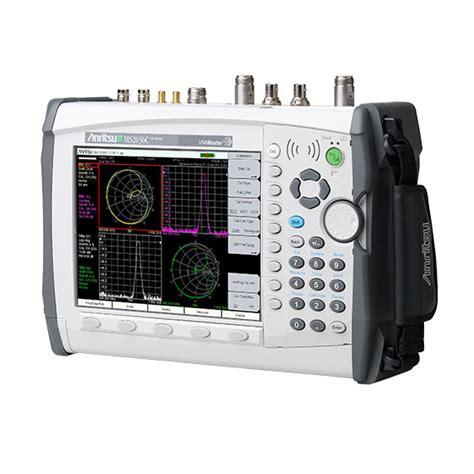 vector signal analyzer tutorial vna master spectrum analyzer ms2036c anritsu america
