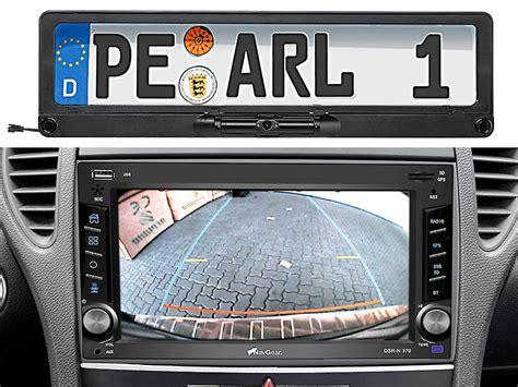 Auto Berf Hren Ohne Kennzeichen by Lescars Universal Funk R 252 Ckfahrkamera Refurbished