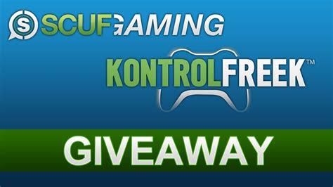 Kontrol Freek Giveaway - giveaway scuf gaming controller extras kontrol freeks scufgaming kontrolfreek