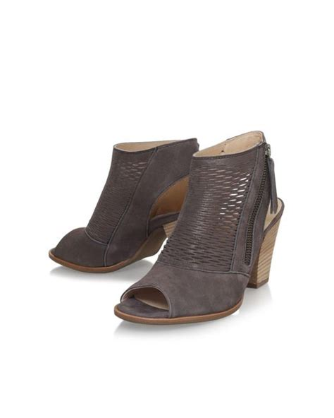 paul green shoes paul green rosie high heel shoe boots in gray lyst