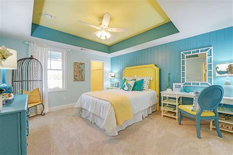 turquoise and yellow bedroom echelon interiors