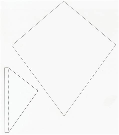 kite template clipart best