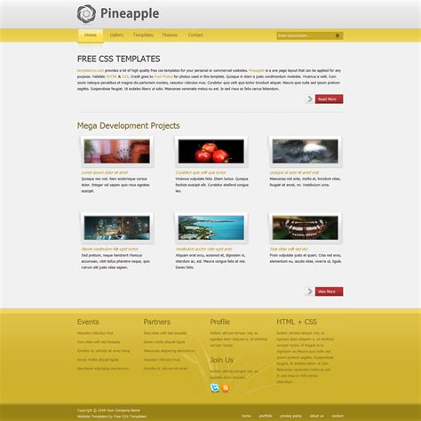 Unique Free Website Templates Css And Html Templates Design Html And Css Templates