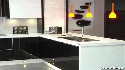 como decorar una cocina negra c 243 mo decorar una cocina moderna a blanco y negro youtube