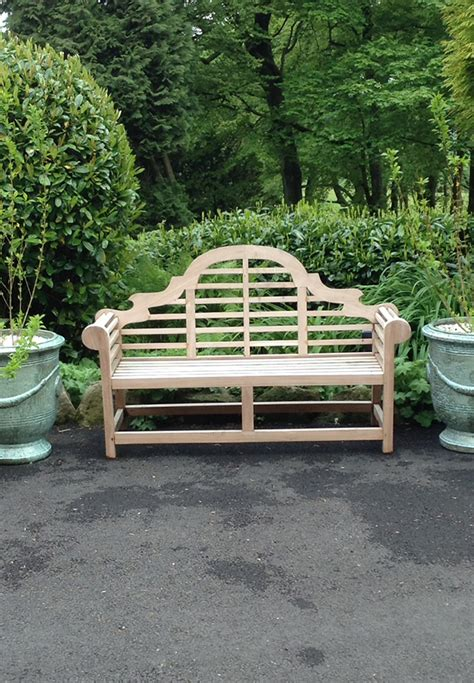 luytens bench teak luytens bench orchard nurseries