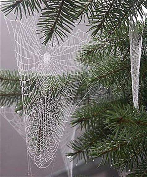 why are spider webs a popular christmas tree decoration earthweek ew070720 ew070720b jpg g spinnenwebben beautiful