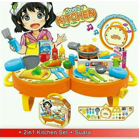 Mainan Masak Masakan Pintar Masak Mainan Anak Perempuan mainan masakan murah toko bunda