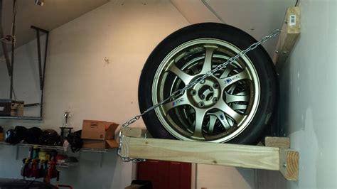 tire storage rack diy evolutionm mitsubishi lancer
