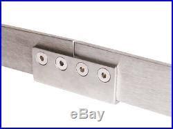 Brushed Nickel Barn Door Hardware 8ft Retro Sliding Barn Door Hardware Stainless Steel Track Brushed Nickel