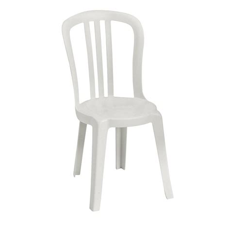 White Bistro Chair White Bistro Chair