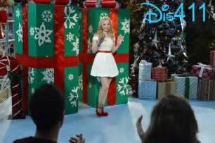 dove cameron singing quot let it snow quot on quot liv and maddie quot