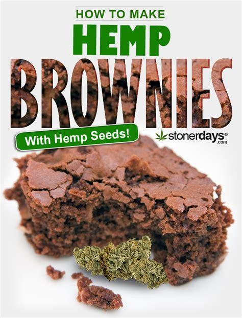 stoner cookbook hemp brownies