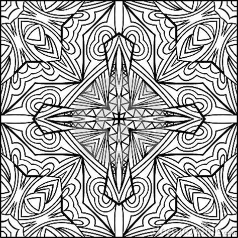 abstract cross coloring pages abstract cross zentangle style black and white ornament