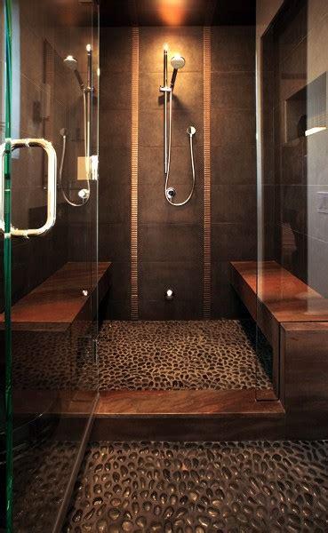 river rock shower floor bathroom remodel bathroom design and remodeling inspirations jimhicks com