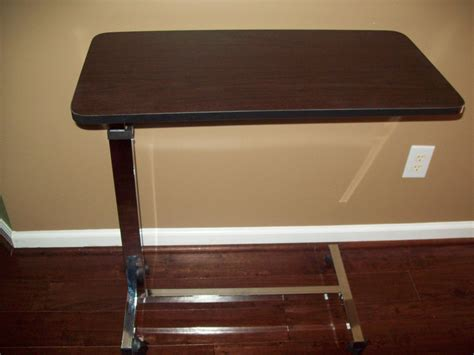 over bed tv table hospital bed table tray