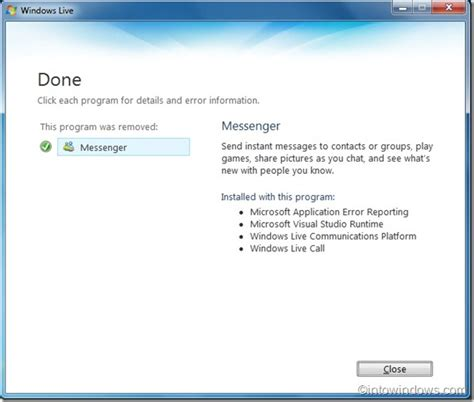uninstall windows 10 and reinstall 7 how to uninstall windows live messenger in windows 7