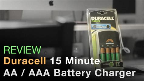 15 minute battery charger duracell 15 minute fast battery charger review