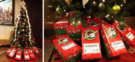 the sdr team lends a hand for operation christmas child