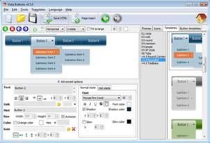 devexpress customize web menu theme template