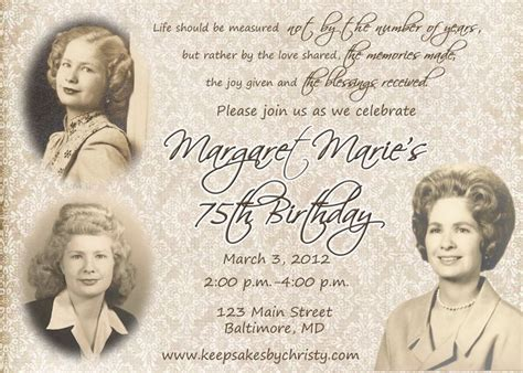 17 Best Ideas About 90th Birthday Invitations On Pinterest 90th Birthday Cards 90th Birthday 95th Birthday Invitation Templates