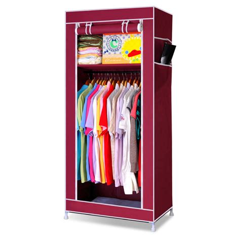 Diy Clothes Cabinet by Diy Simple Wardrobe Combination Fabric Large Capacity