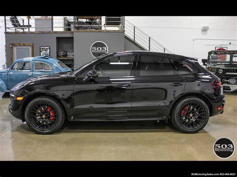 Porsche Macan Back by 2017 Porsche Macan Gts Black Black W 2 5k