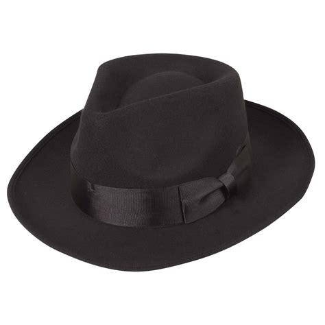 style hats classic 1940s gangster mafia al capone new york felt