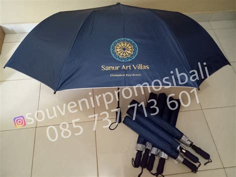Payung Terbalik Denpasar grossir payung golf dan lipat bisa sablon custom logo di