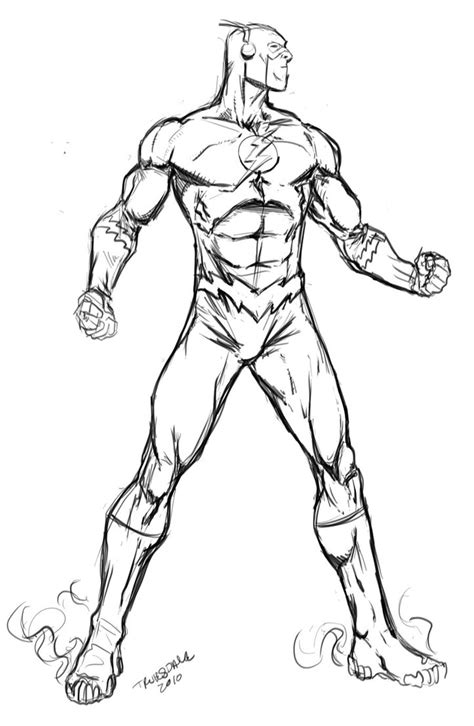 Pdf Flash Coloring Book Dc by Color The Flash Coloring Pages For