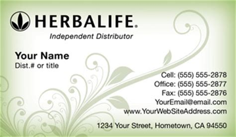 free herbalife business card template herbalife business cards free shipping and design no