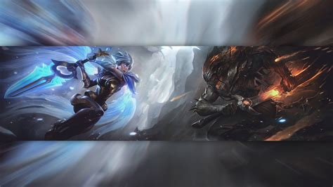 angelblade riven demonblade yasuo lol wallpapers